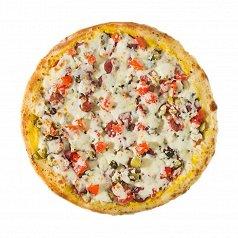 Пицца Сырный поросенок средняя