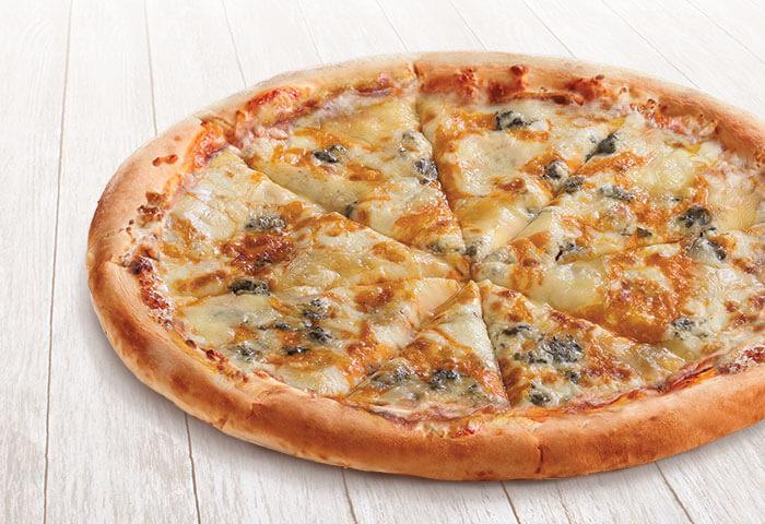 Пицца с сырами