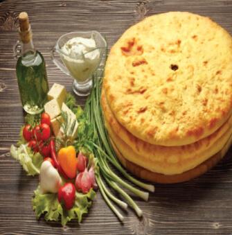 Пирог с картофелем и грибами 450гр