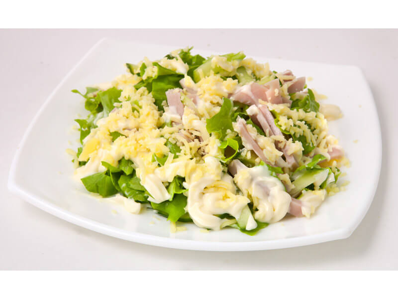нежный салатик