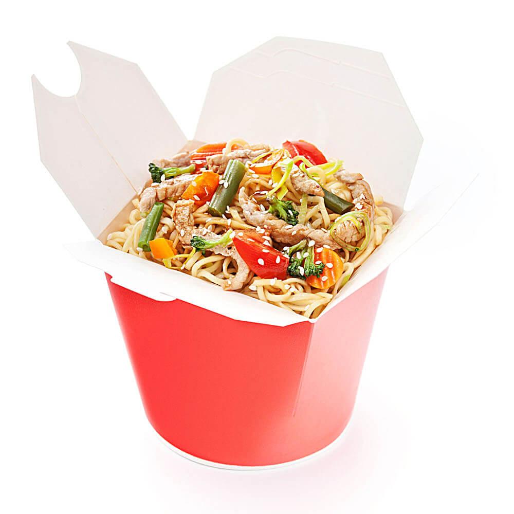 Вок Удон с овощами в пикантном соусе