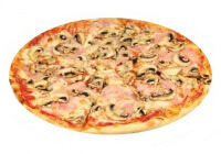 Пицца Грибы-ветчина 4 куска