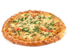 Пицца с ветчиной и грибами 500 гр